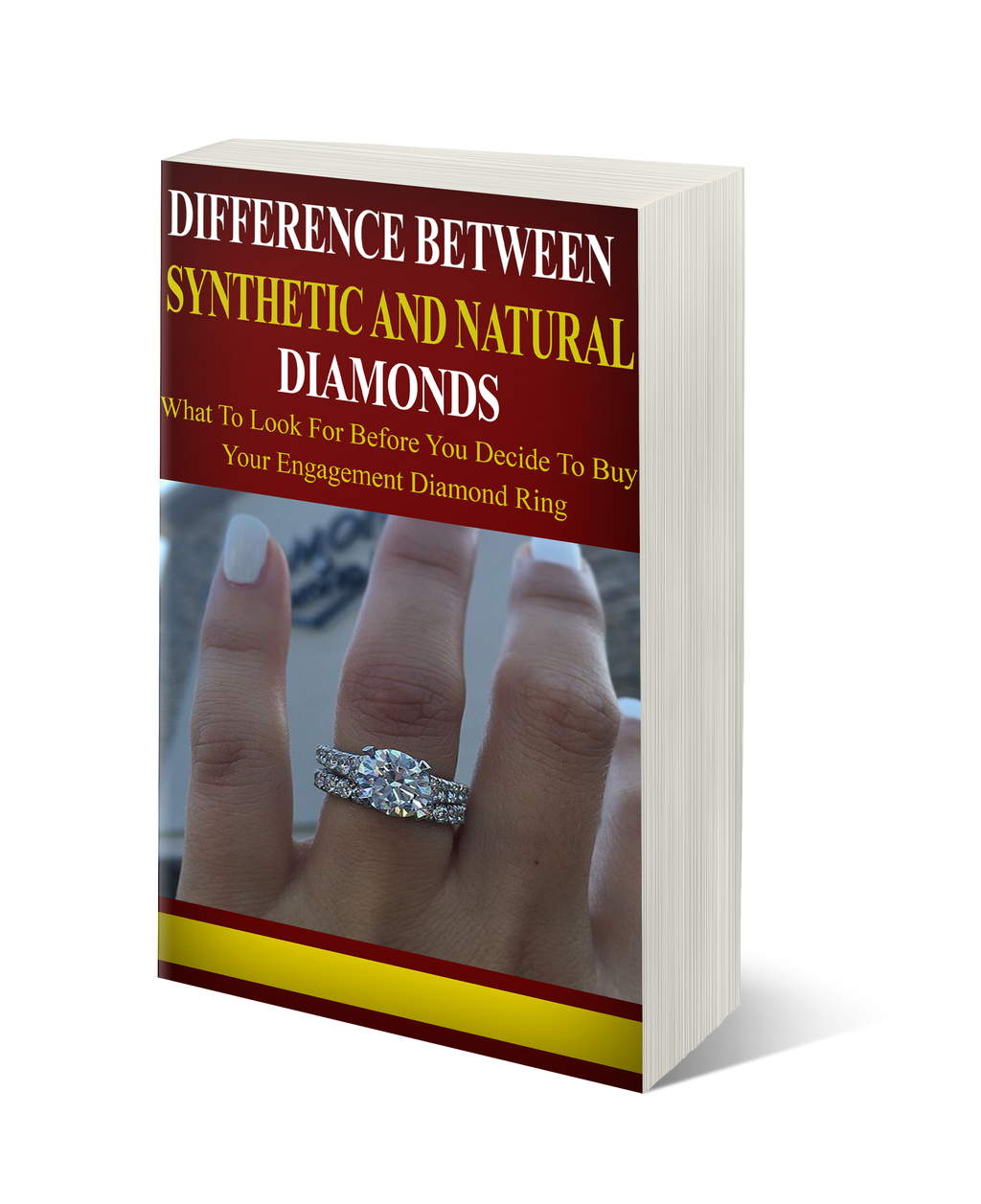 engagement ring natural or synthetic diamond guide