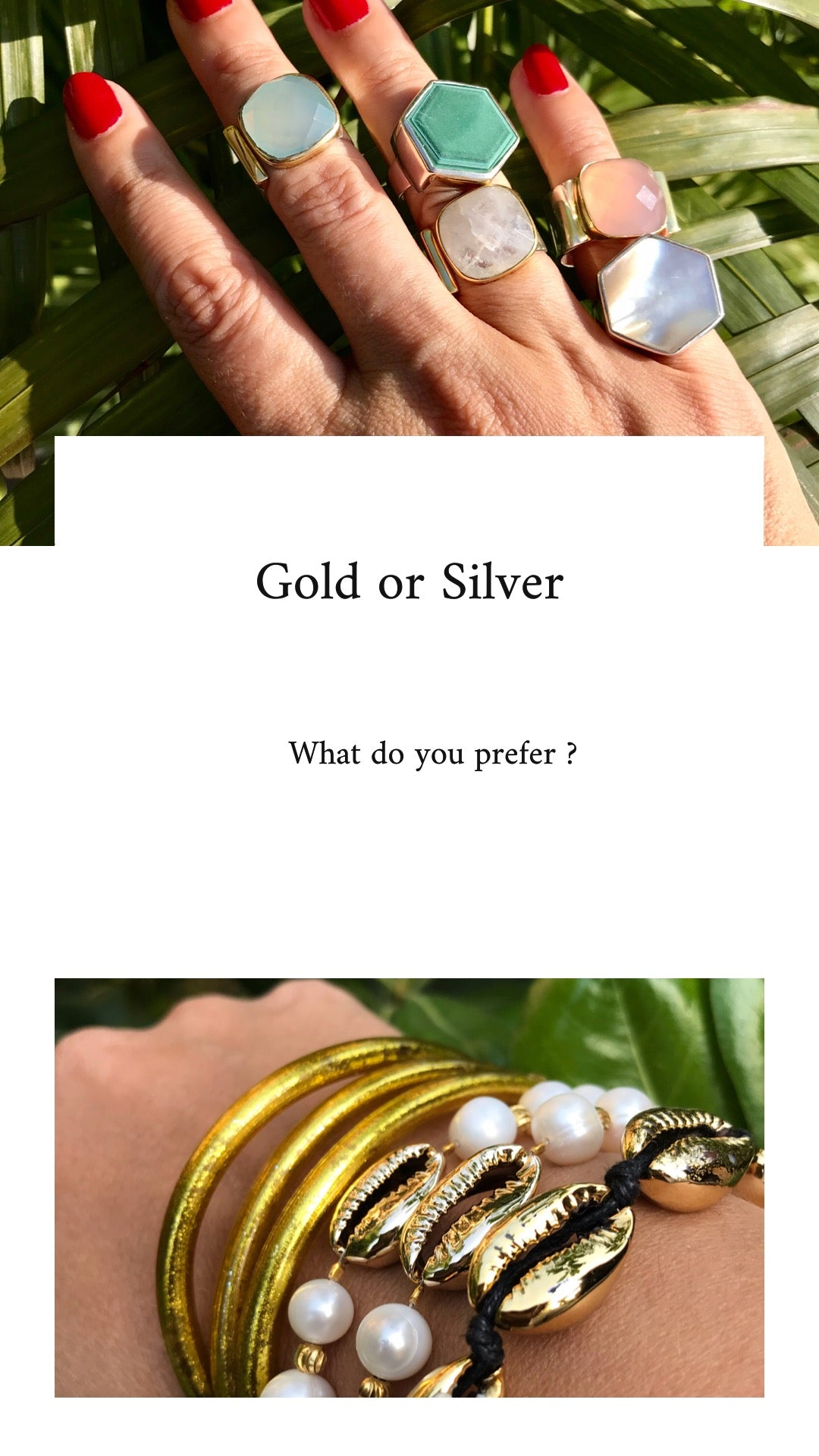 Are you Gold or Silver ?