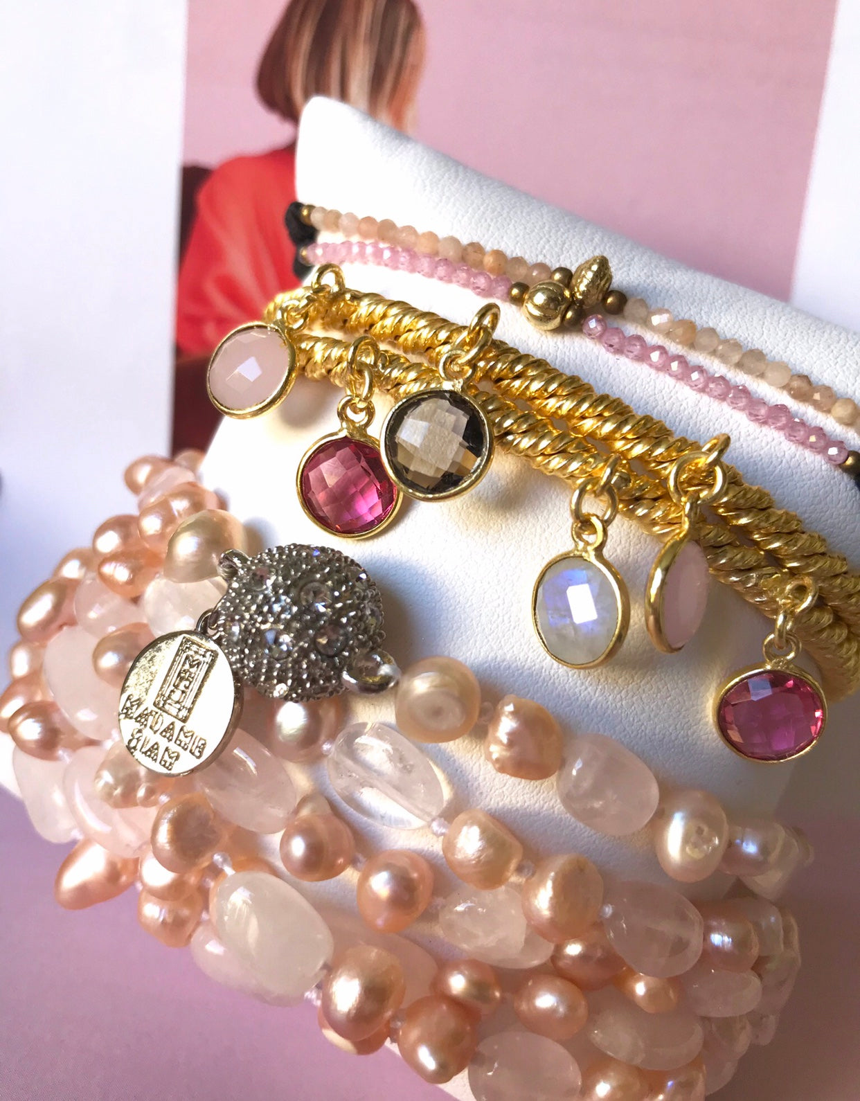 PINK OCTOBER : PINK Jewelry