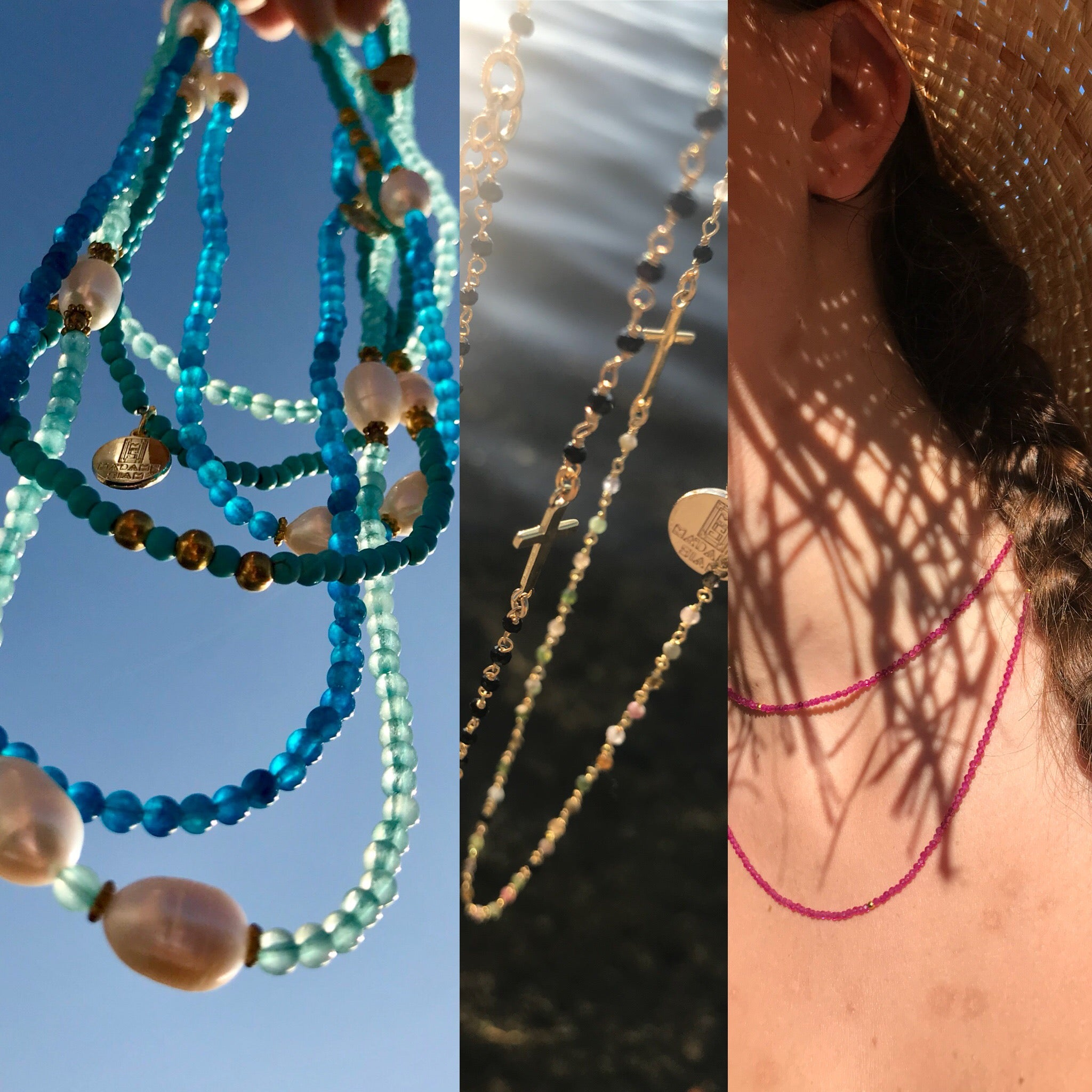 Necklaces for summer