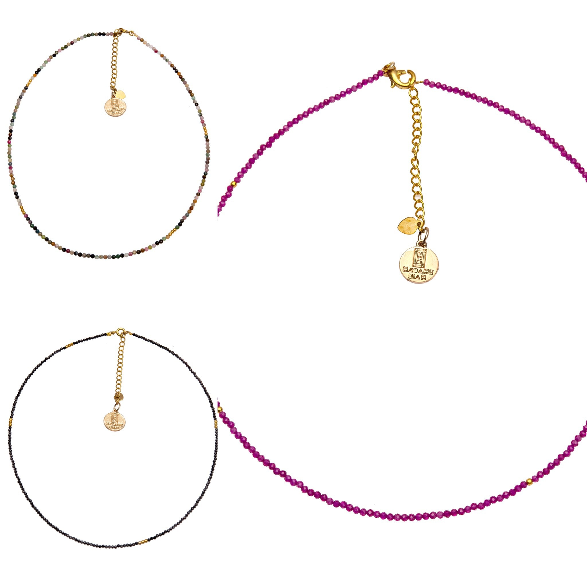 Don't miss this summer trend : the stones necklace