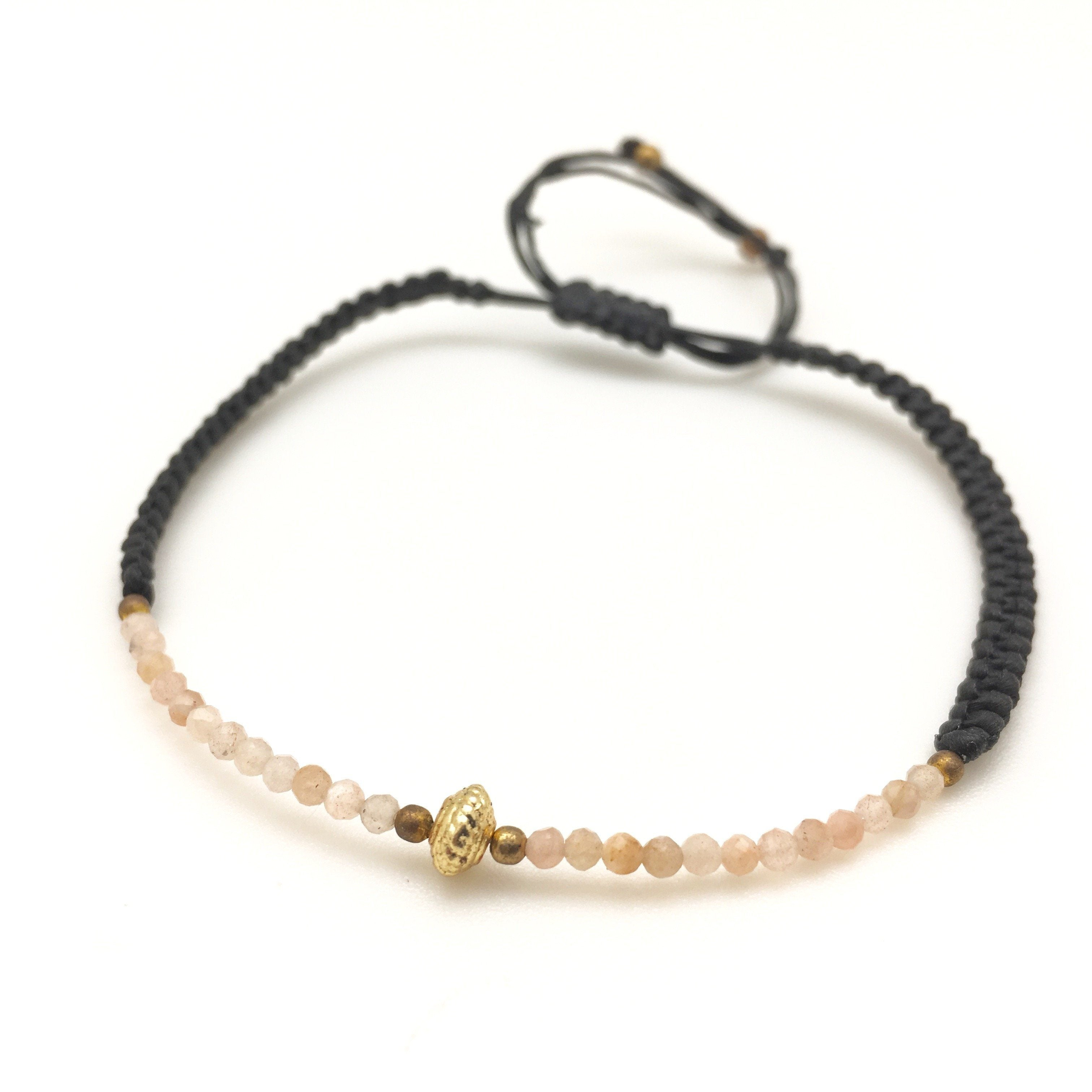 MINIMA moonstone bracelet - MadamSiam