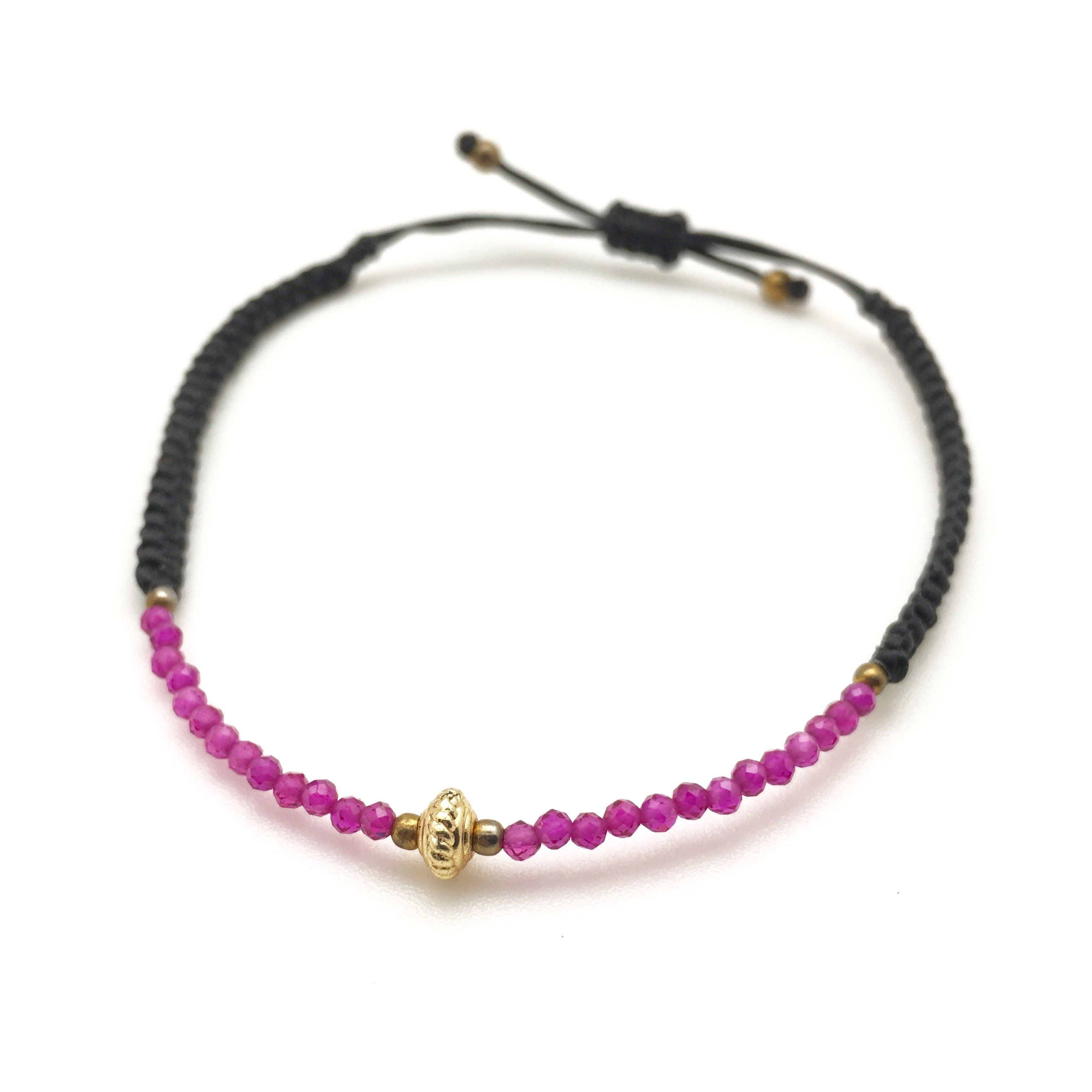 MINIMA ruby bracelet - MadamSiam