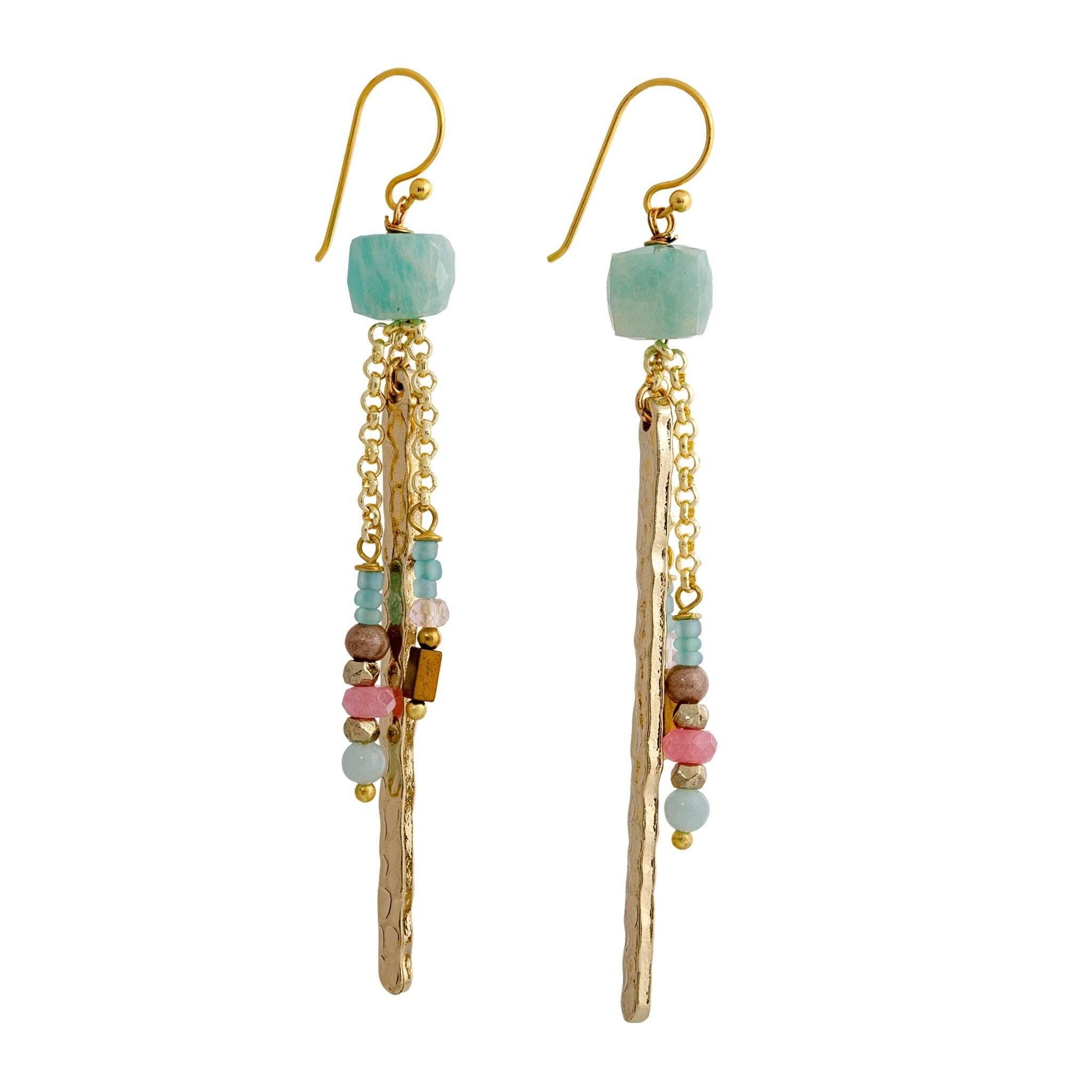 SIA apatite earrings