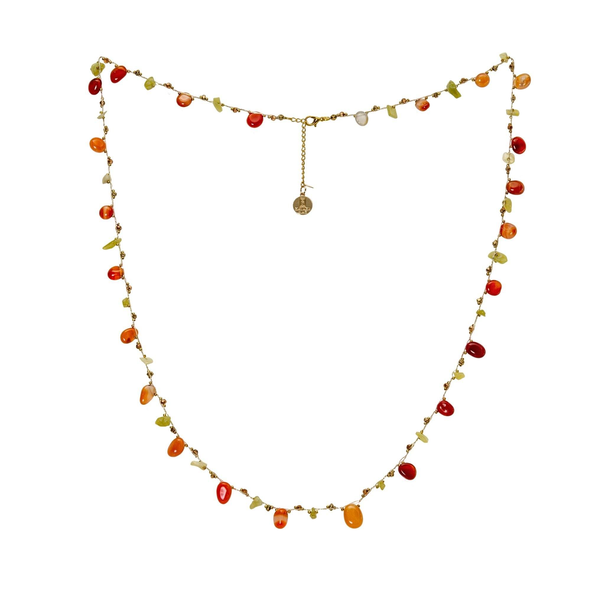 LUKA carnelian necklace
