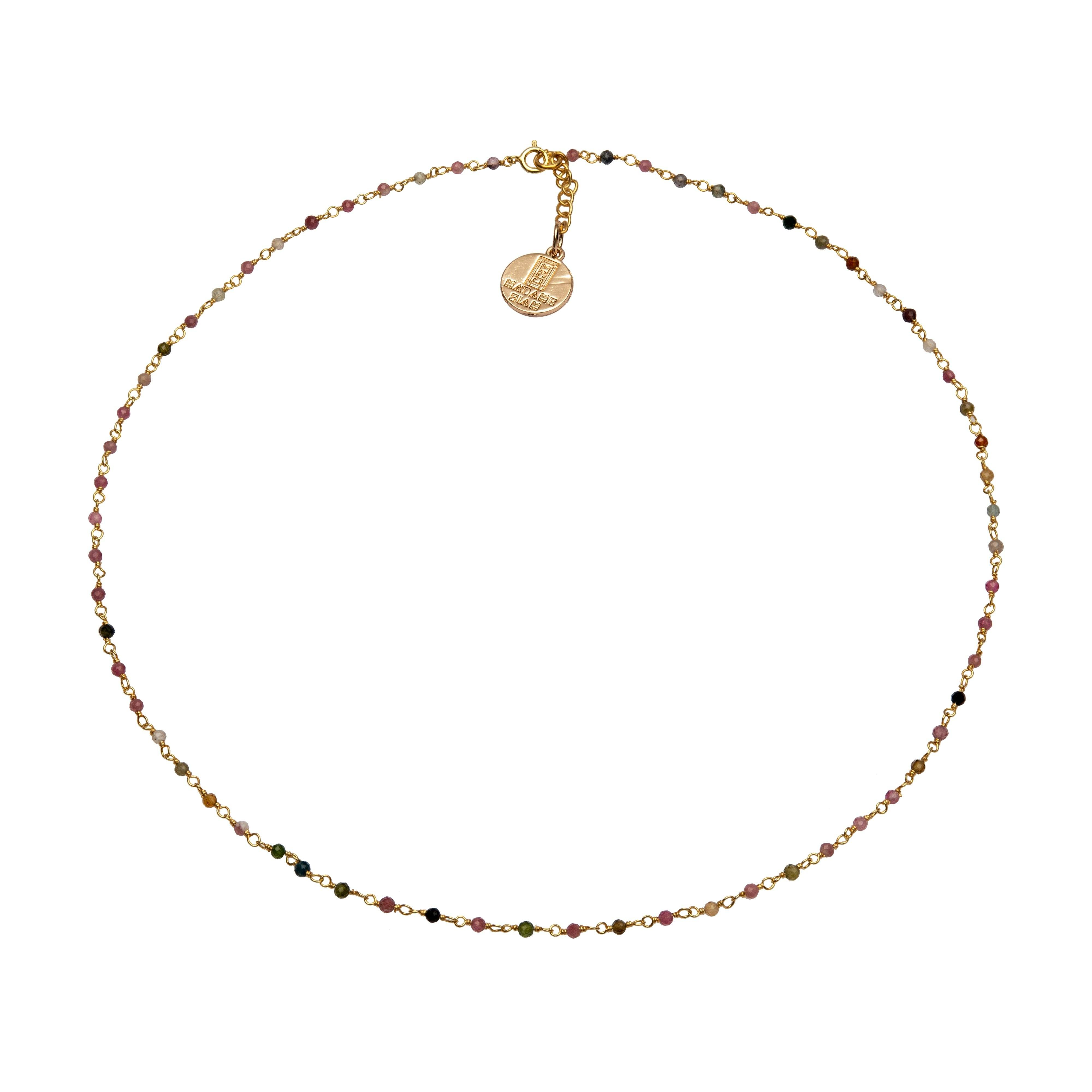 ROSARIA Tourmaline chocker - MadamSiam