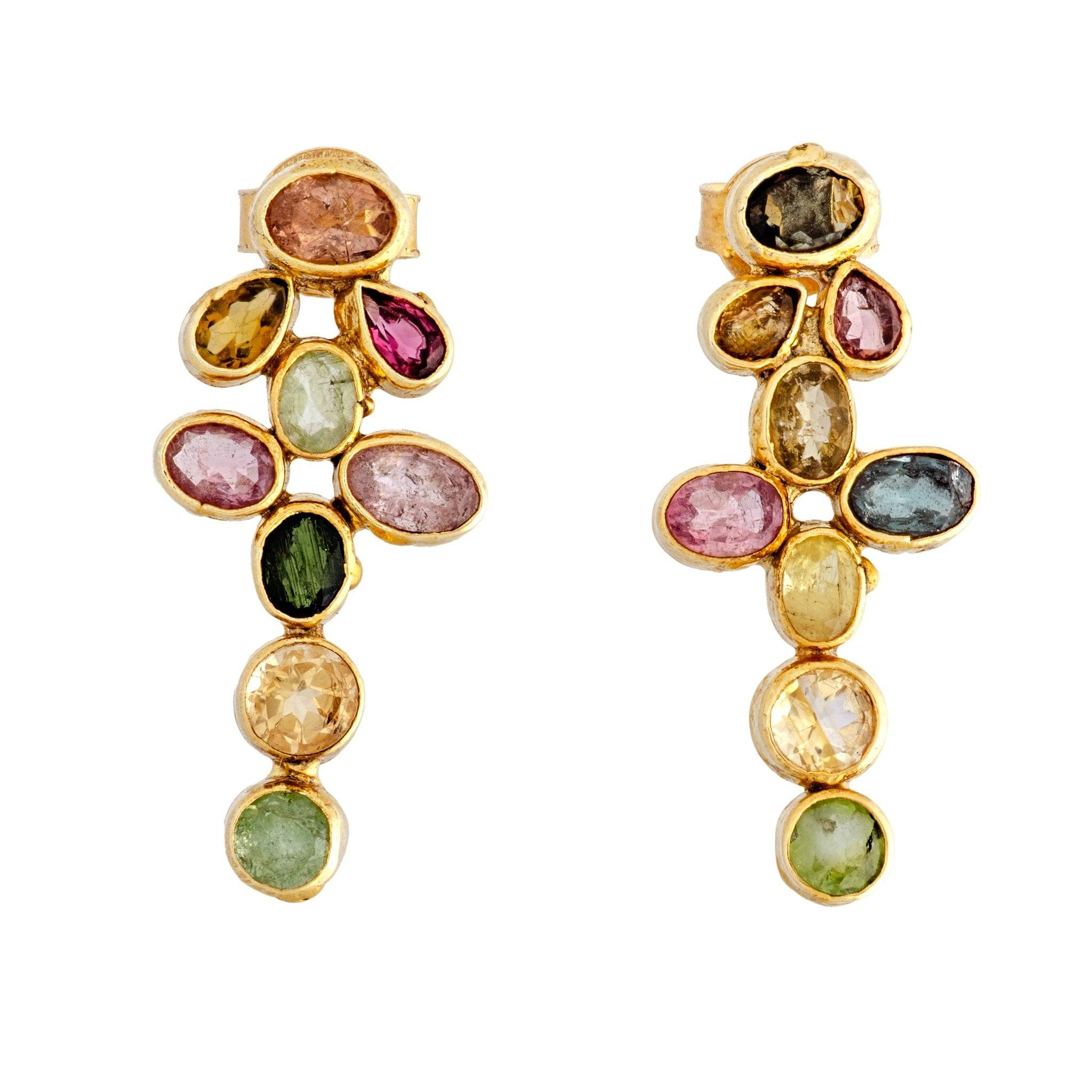 PÉTULA tourmaline earrings