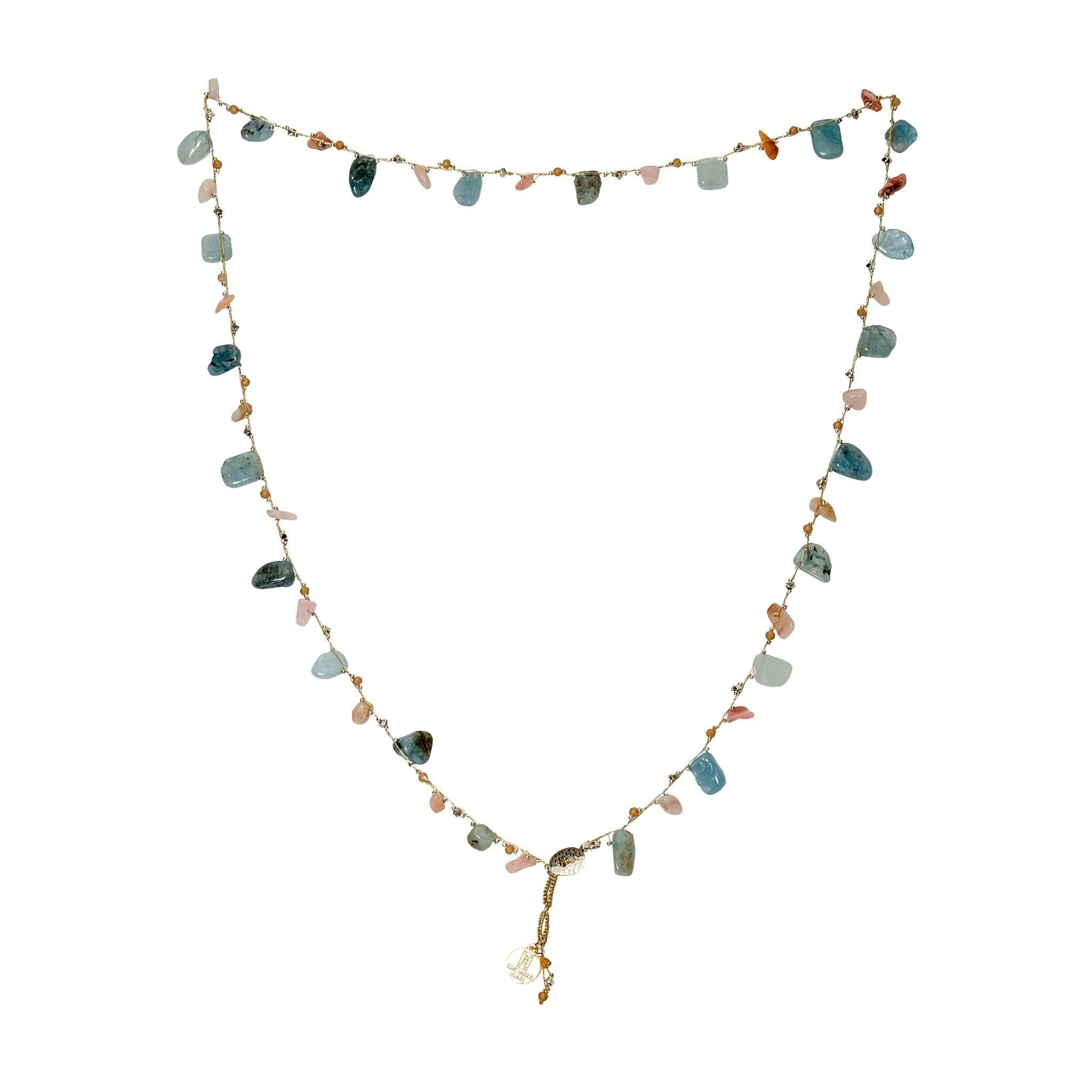 LUKA quartz necklace - MadamSiam