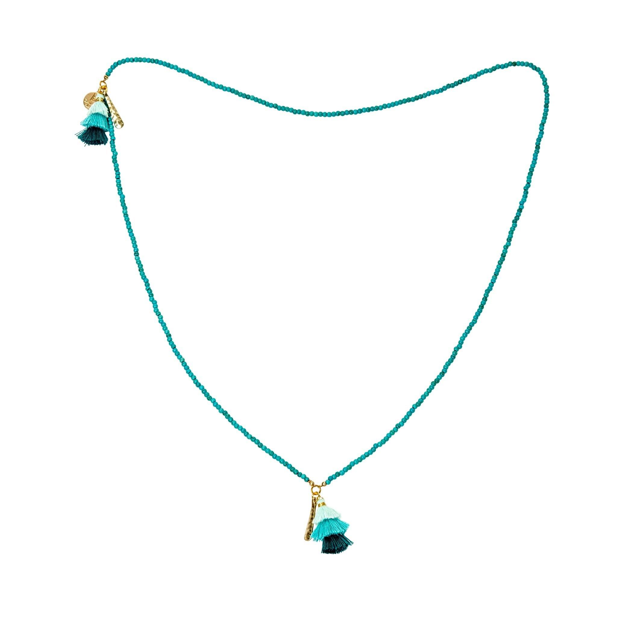 Praka turquoise necklace - MadamSiam