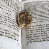 SPHESA amethyst ring - MadamSiam