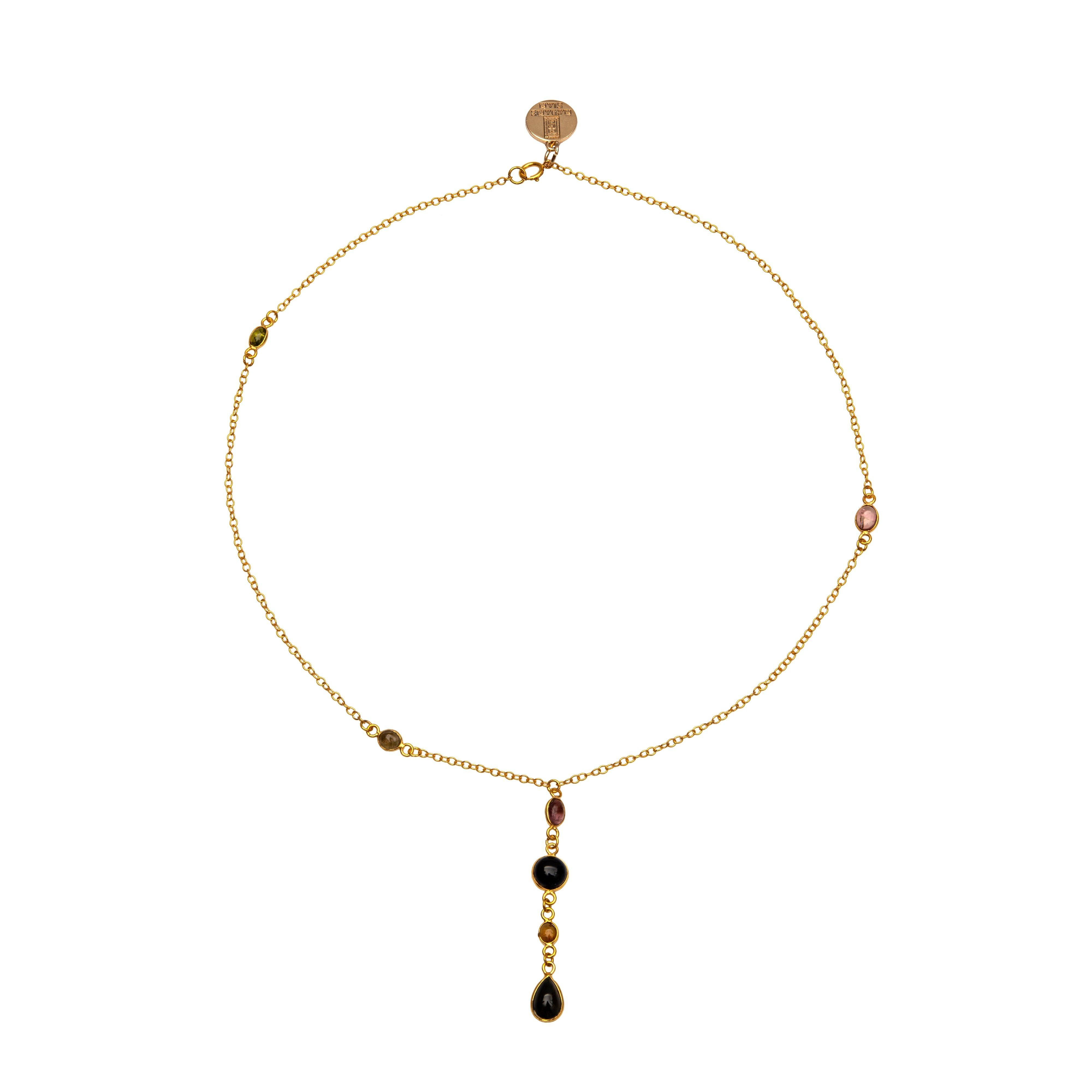 NAÏ tourmaline chocker - MadamSiam