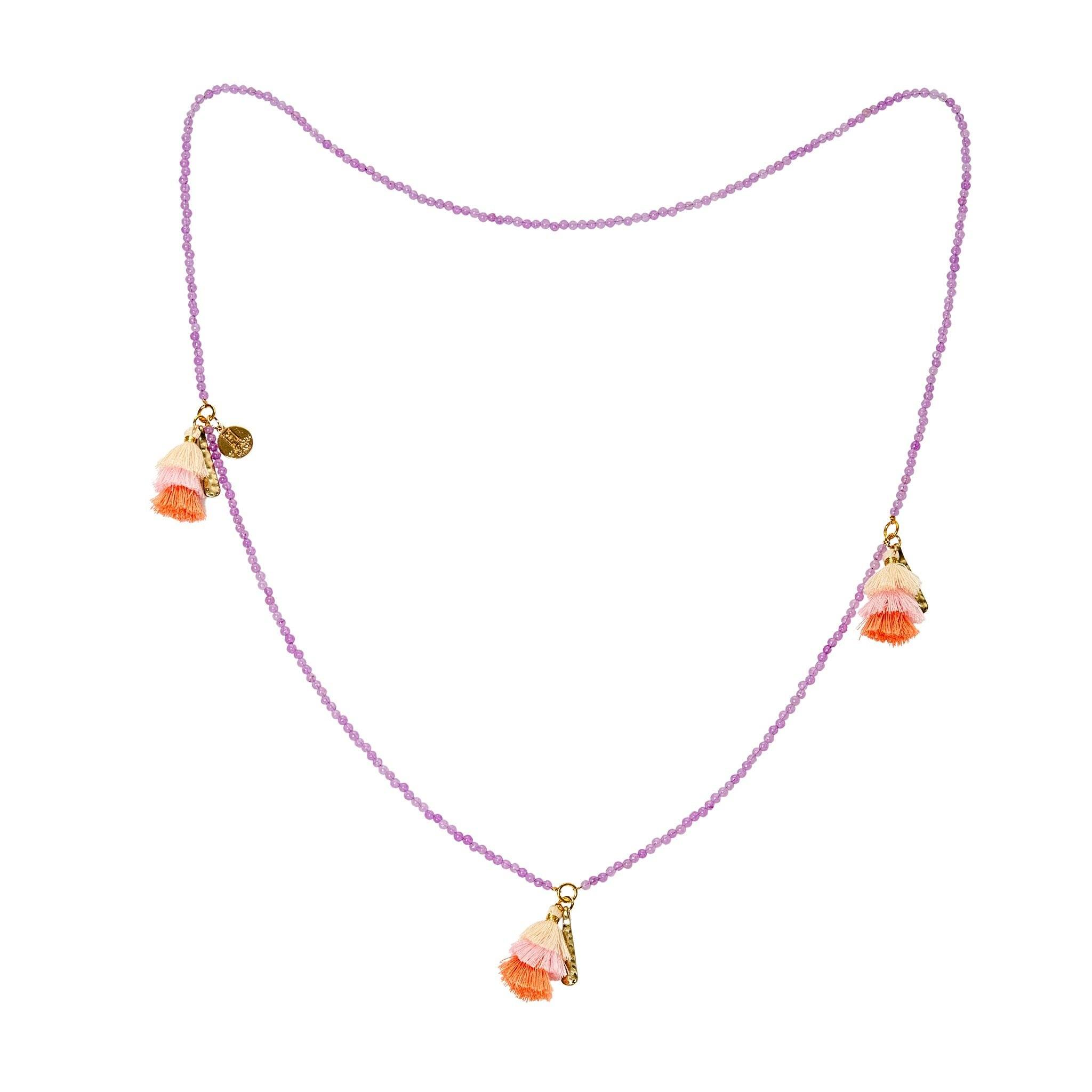 Praka amethyst necklace