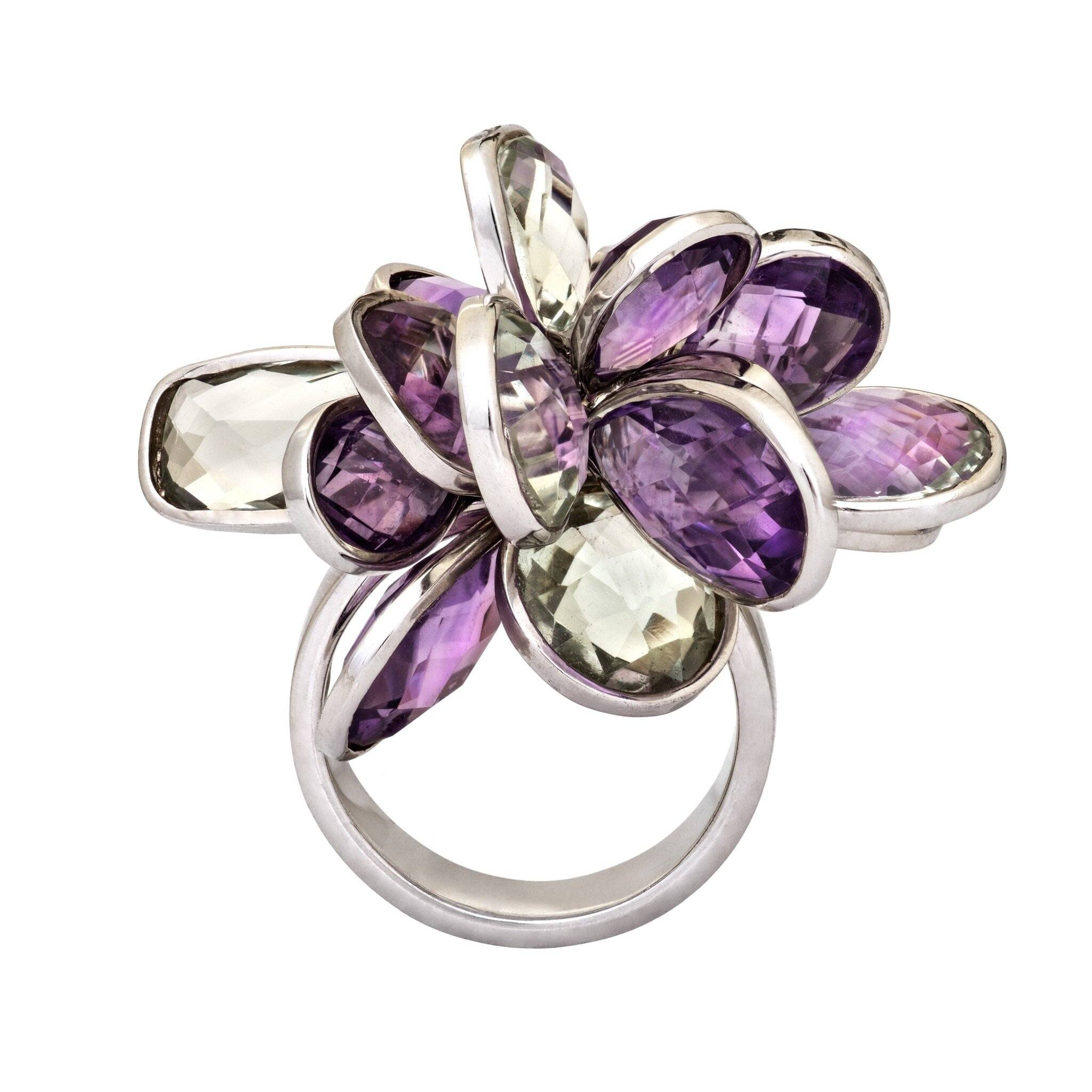 PURPLE RAIN amethyst ring - MadamSiam