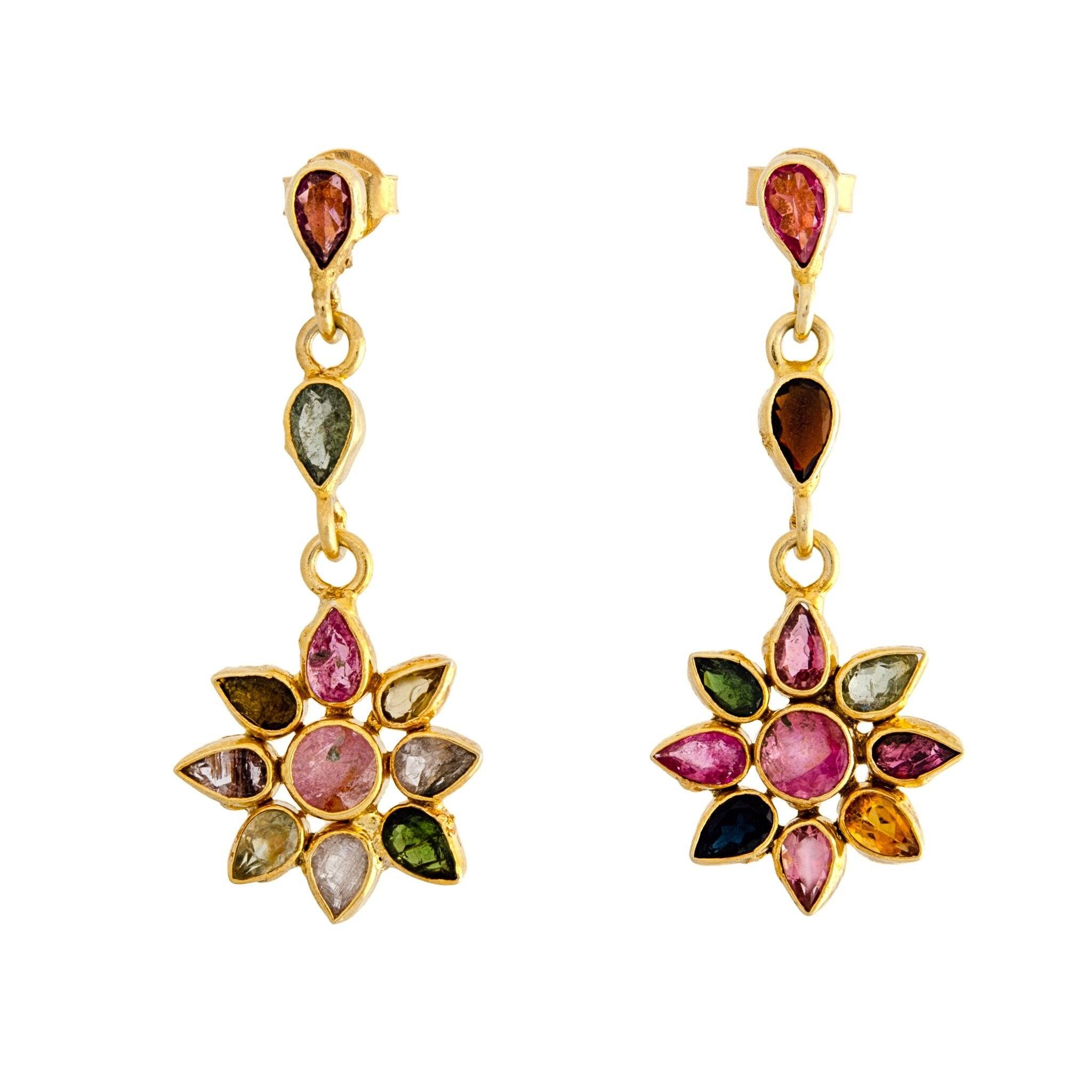 SOL tourmaline earrings - MadamSiam