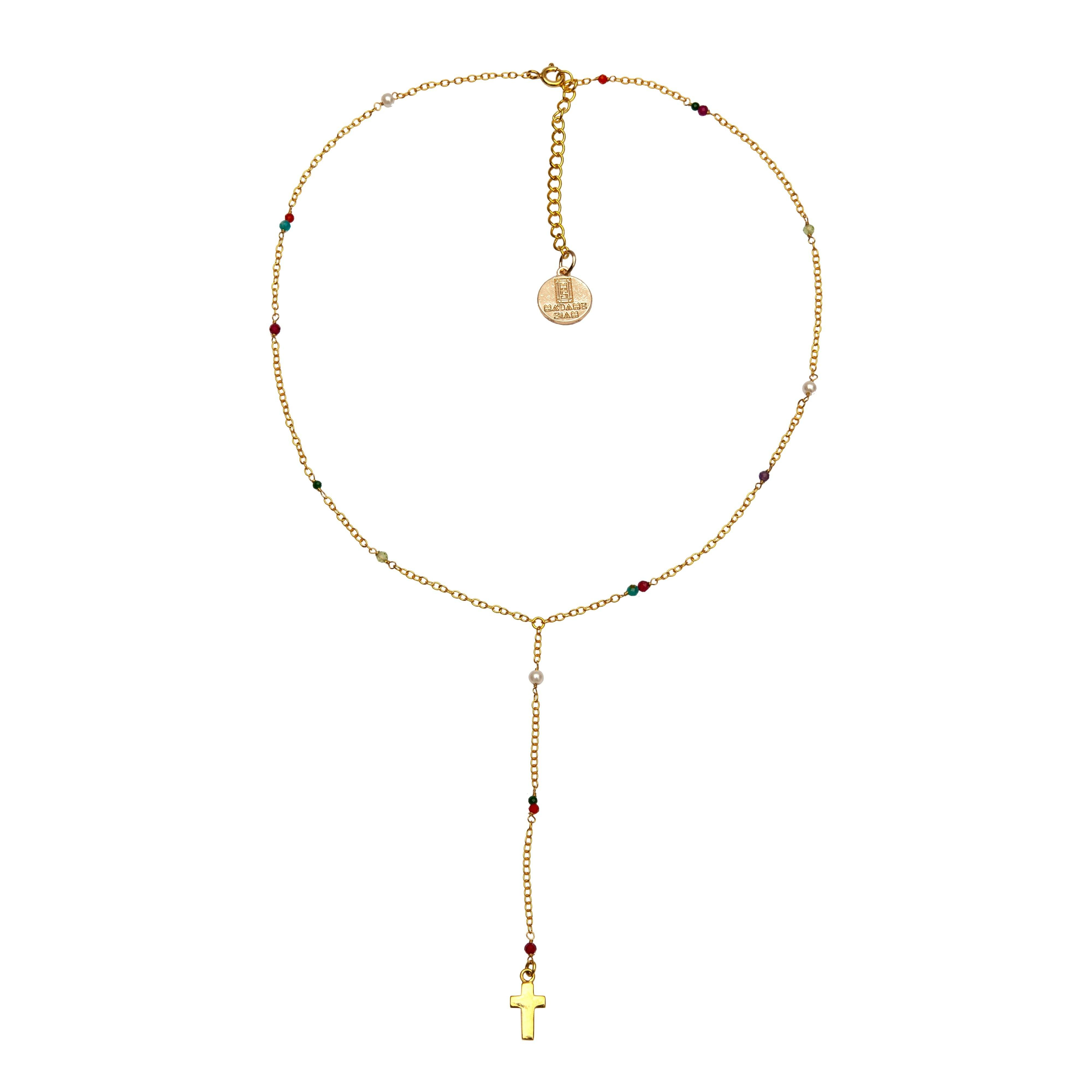 SIXTINE rosary necklace - MadamSiam