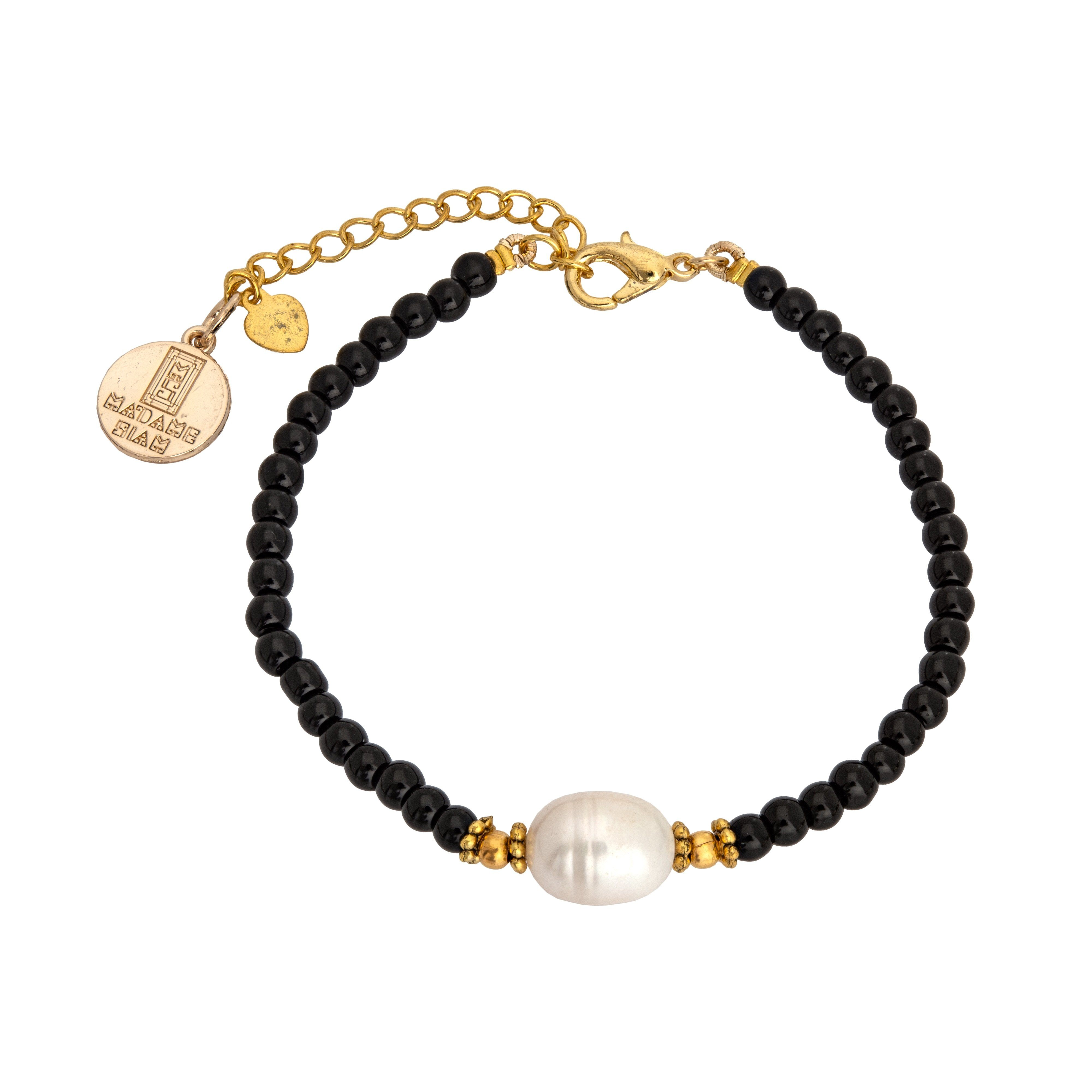 KIMUKA Black onyx bracelet - MadamSiam