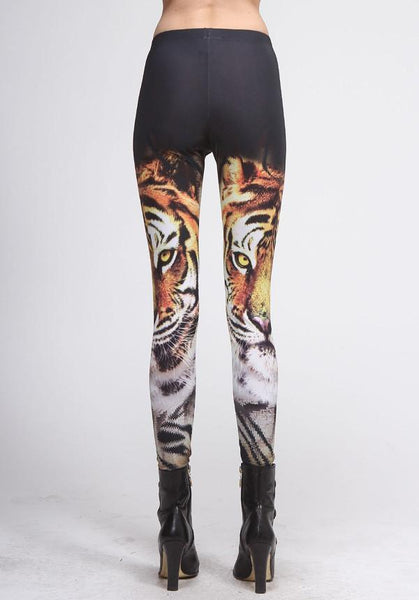 Tiger Face Leggings
