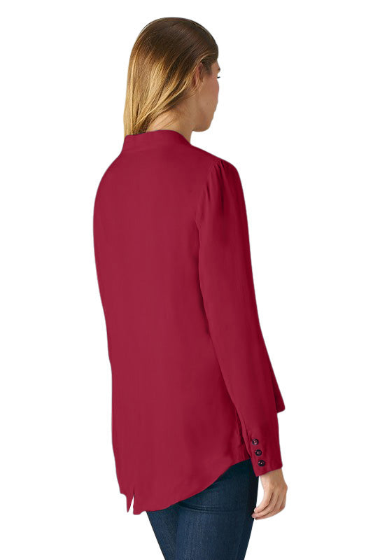 Bella Emporer Collar Draped Jacket