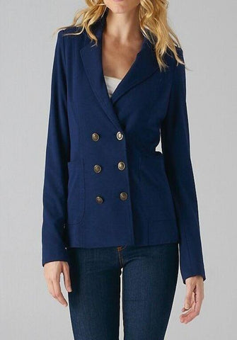 Marta Fit Double-Breasted Blazer