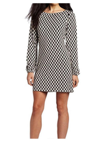 Geo Print Sylvie Shift Dress