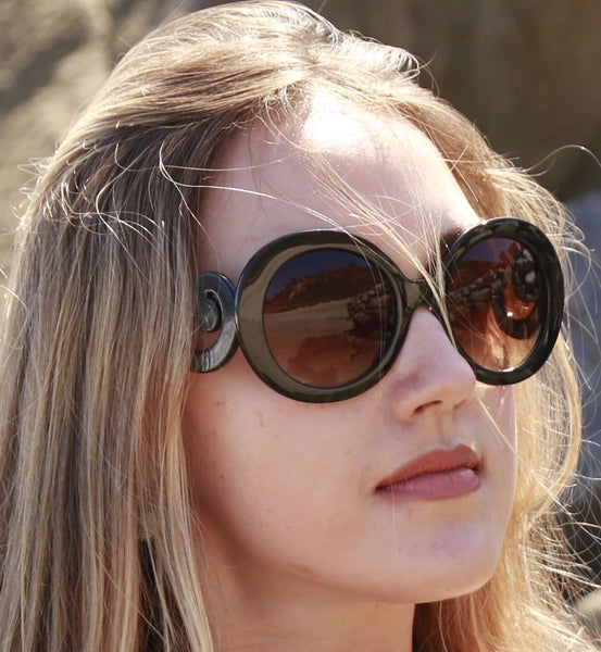Go For Baroque Round Sunglasses