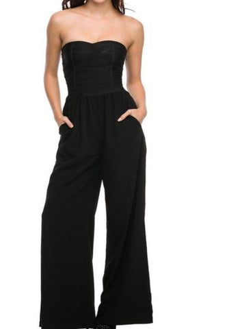 WOW Couture Bandage Bodice Jumpsuit