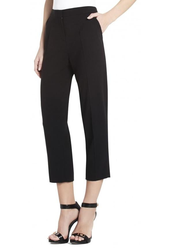 James Black Cropped Pants