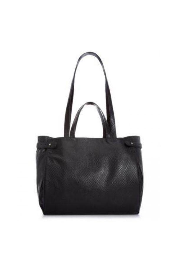 Nadia Black Shopper Bag