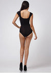 Black Short Sleeve Bodysuit