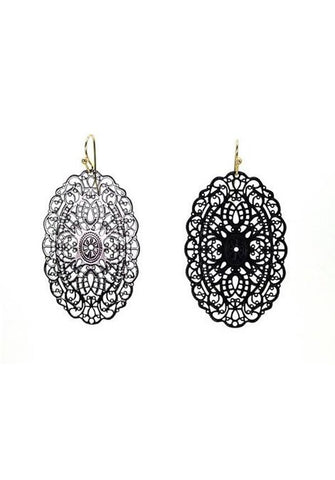Gothic Filigree Earrings