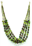 Natural Cut Bead Necklace