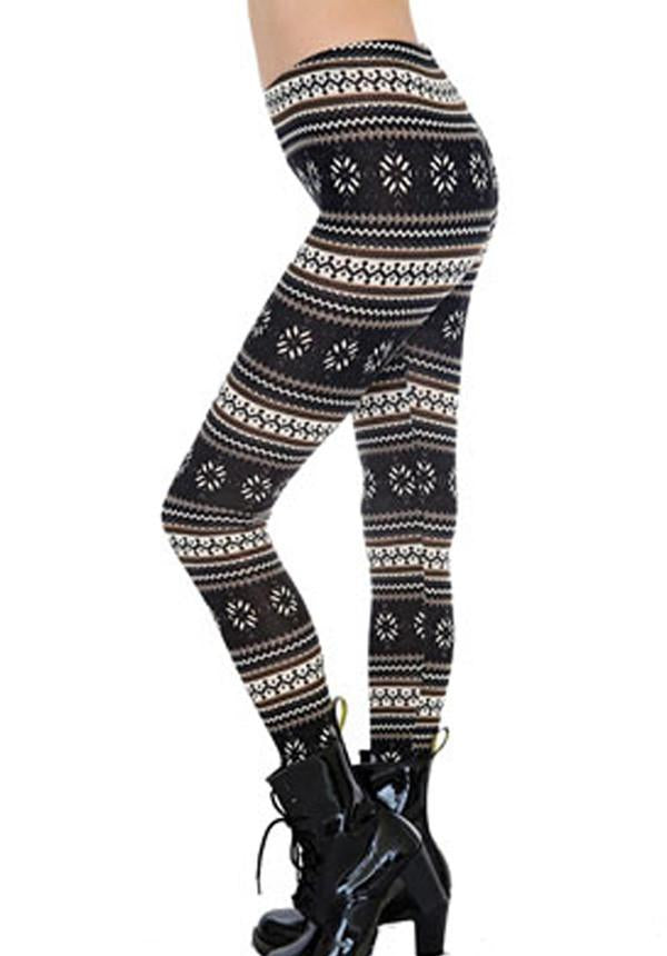 Nordic Print Leggings
