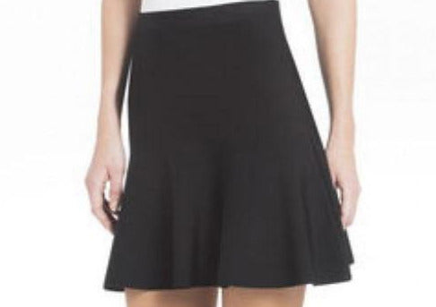 Ingrid Black A-Line Skirt