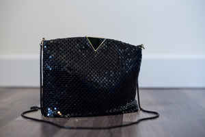 Vintage Metal Mesh Shoulder Bag or Clutch!