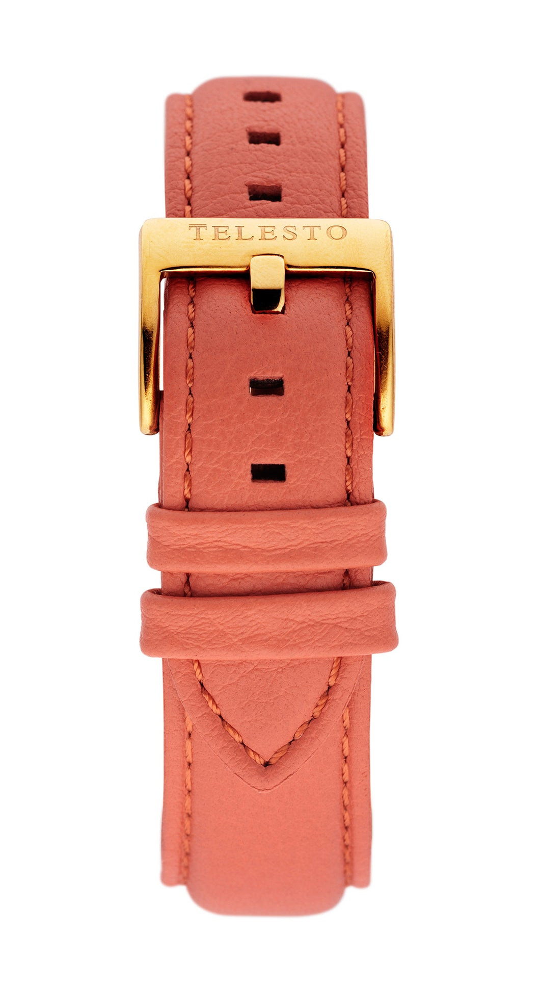 Coral Gold Strap