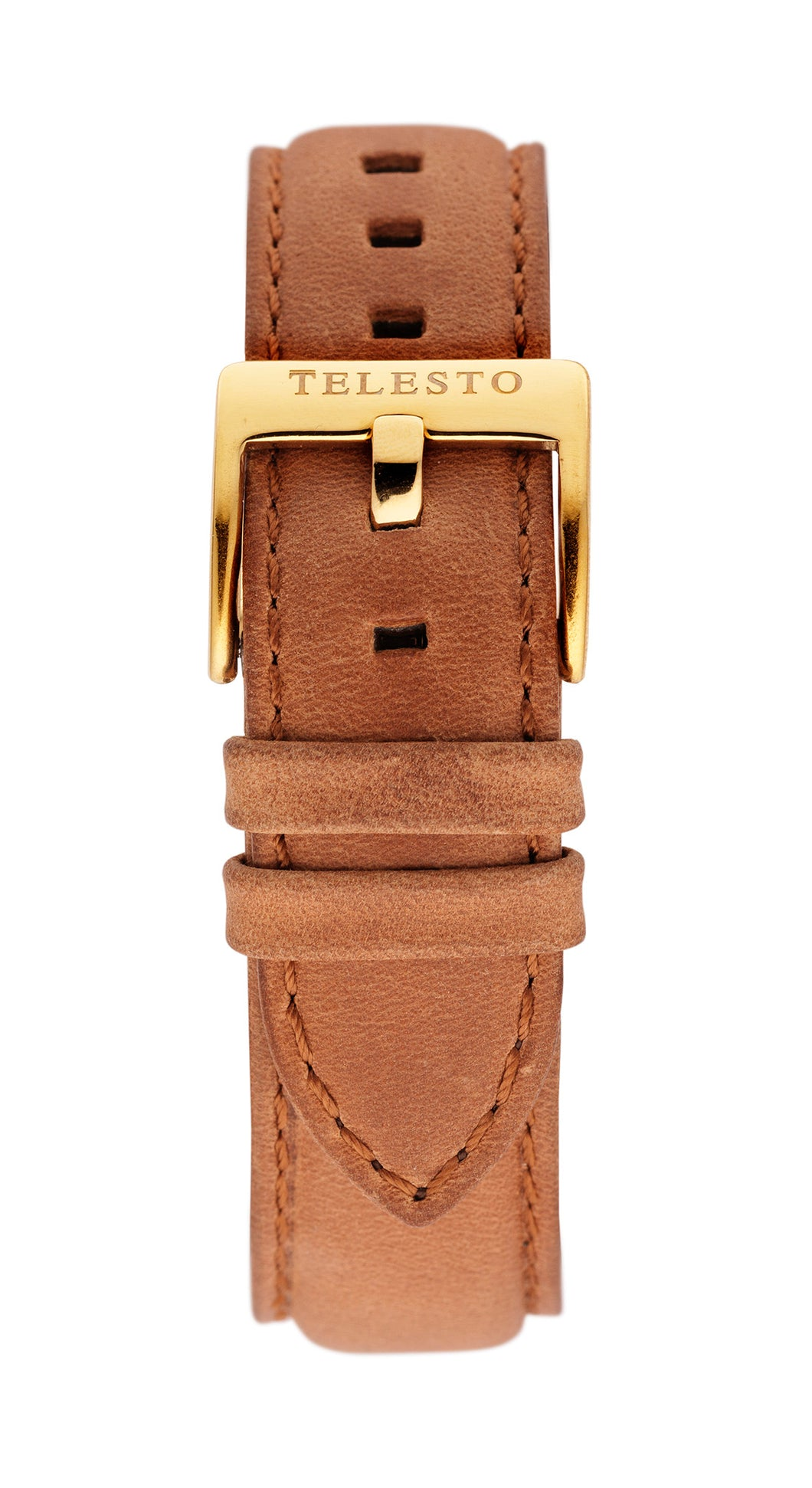 Light Brown Gold Strap
