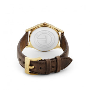 Brown Gold Strap