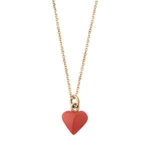 Coral-heart-pendant-charm-necklace