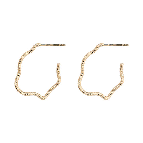Earrings Gold  L