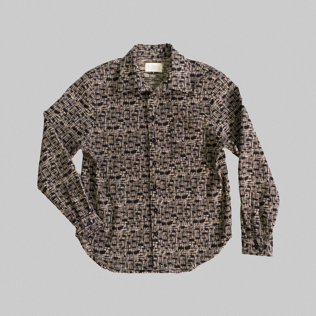 Sand Tweed Overshirt