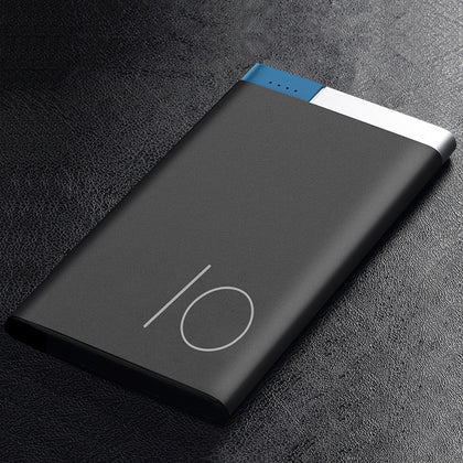 Limited - Portable Ultra-thin 10000mAh Polymer Metal Alloy Powerbank
