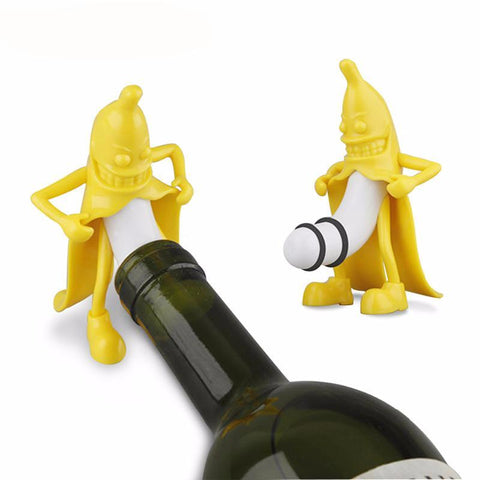 Mr. Banana Wine Stopper