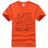 The Big Bang Theory Mathematical Formula T-Shirt For Men