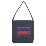 Firefighter Mom Tote Bag