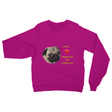 Pug Love Heavy Blend Crew Neck Sweatshirt