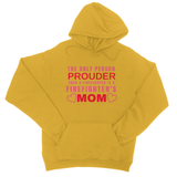 Firefighter Mom College Hoodie