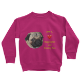 Pug Love Kids' Sweatshirt