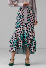 Load image into Gallery viewer, Polka Dot Ruffle Skirt