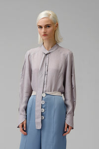 Dusty Lavender blouse