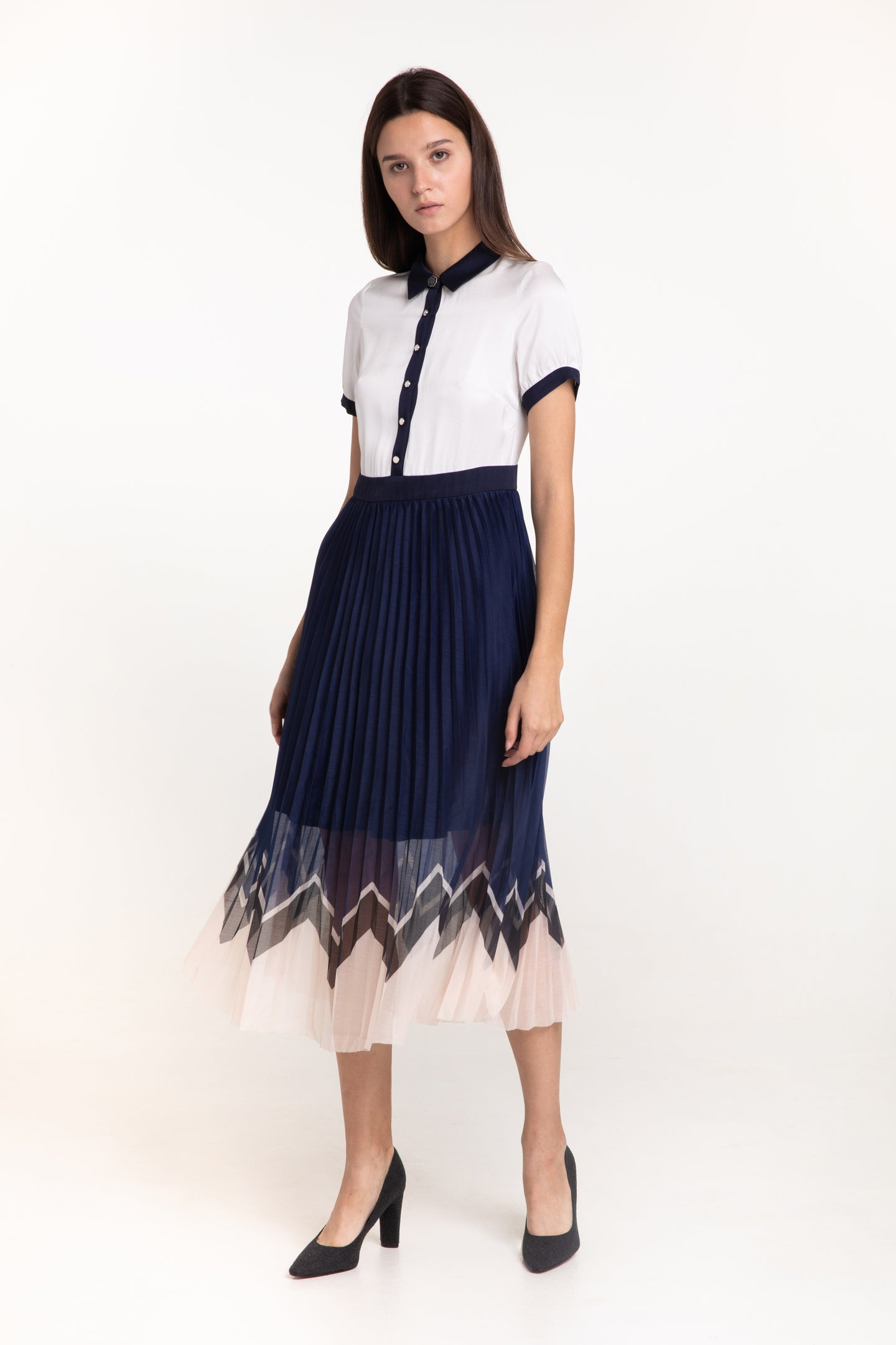 Prairie Accordion dress